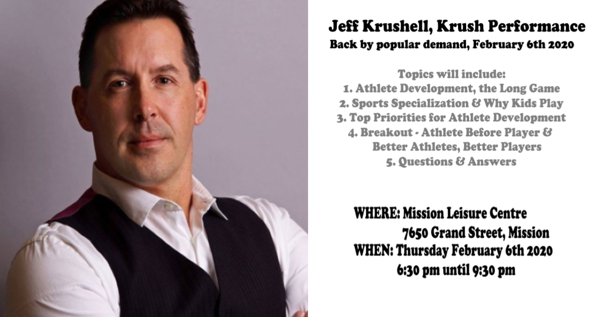 Jeff Krushell Event